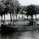 de sluis bij Veere 1955