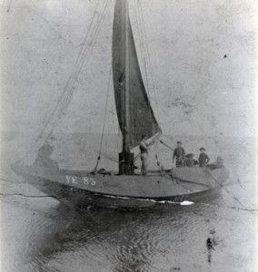 eerste schip 1916